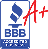 BBB Accredited A+ Rated